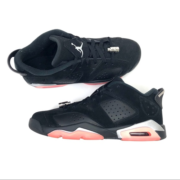 2adcdaae116ea Air Jordan Shoes - Air Jordan 6 VI Retro Low GS Sunblush 768878-022